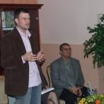 Дејан Мостарлић, /директор 2006-2010/ и др Ђорђе Ђурић