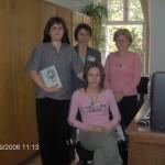 Драгана Пејаковић, Светлана Стојковић, Јулијана Голчевски и Драгица Вулин, 2006. година
