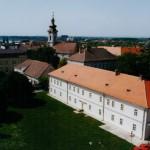 Панорамски снимак зграде Архива Срема