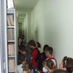 Архивски депо, посета ученика