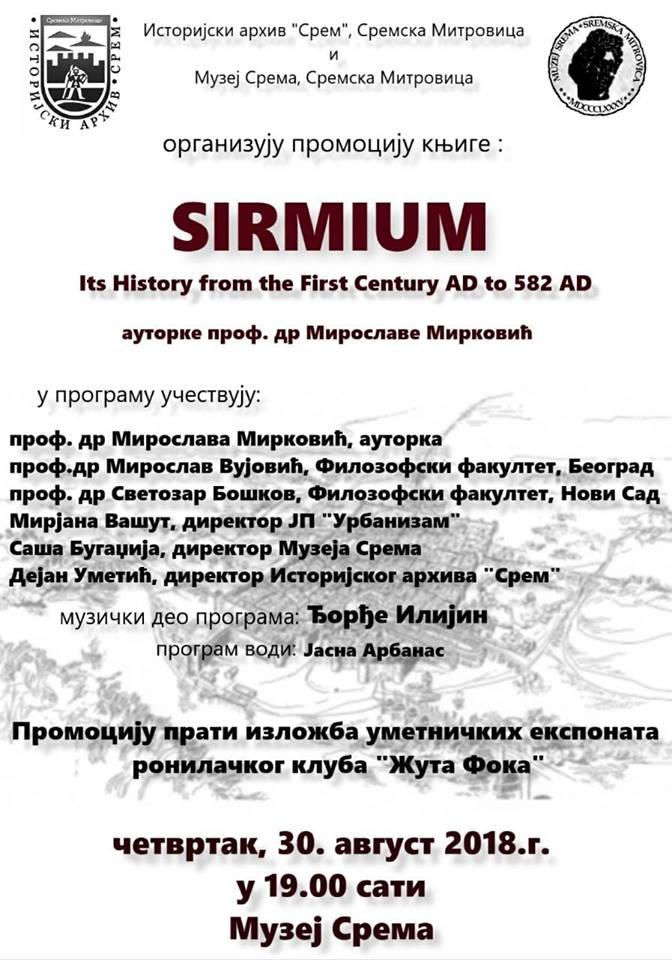 plakat SIRMIUM
